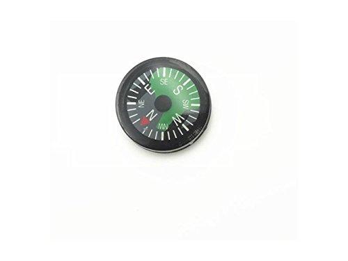 UHUA Outdoor-Aktivitäten uttdoor Erforschen Sie Navigationswerkzeuge für Camping Mini Button Explore Compass (Schwarz)