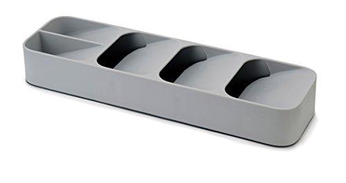Joseph Joseph Drawerstore Compact Cutlery Organiser- Grey