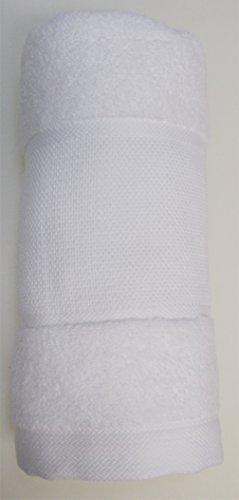 Rico-Design Handtuch weiß mit Aidastreifen ohne Material für gezählten Kreuzstich (Gezählt Kreuzstich-handtücher)