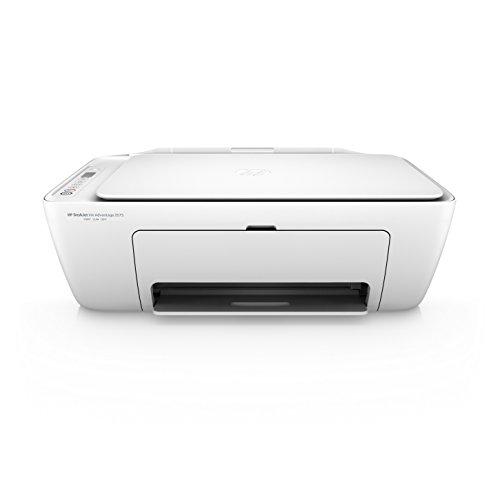HP DeskJet 2675 All-in-One Wi-Fi Inkjet Printer (White)