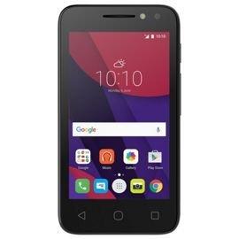Alcatel Pixi 4 4-Inch SIM-Free Smartphone - Black