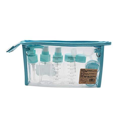 Ritapreaty Unterflasche, Tragbare Kosmetik 10 Stück Air Travel Körperpflege Flüssigkeitsbehälter für Kosmetik Make-up - Garten Körper-nebel