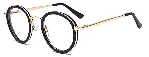 ALWAYSUV Modische Brillen licht Gewicht Klar Linsen Brille Clear Lens Glasses Dekobrillen