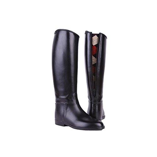 hkm-equestrian-junior-children-waterproof-easy-clean-horse-riding-boots-with-zip-black-kids-uk-2-eu-