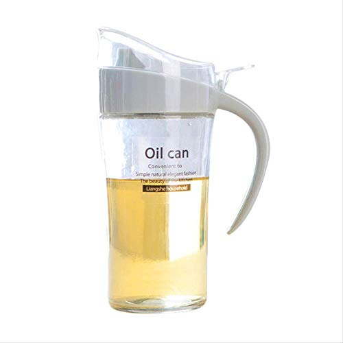 siyao Ölflasche Lecythus Hohe Kapazität Sojasauce Gewürz Speicherorganisator Krug Topf Lebensmittelbehälter Olivenöl Flaschenspender Werkzeuge Grau