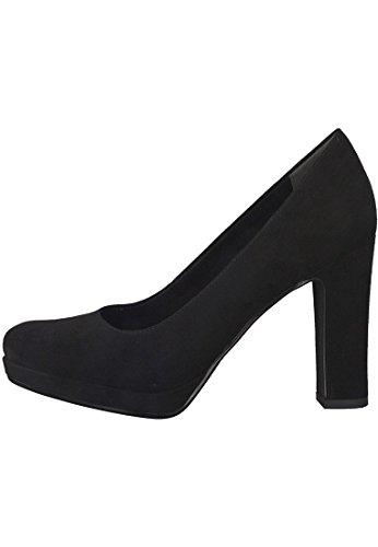 Tamaris 22435, Escarpins Femme, Black Suede Noir (Black Suede)