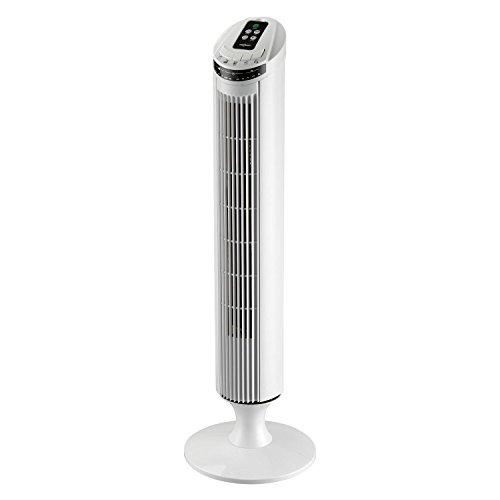 oneConcept Blitzeis, ventilatore a torre da 50 W alto 100 cm