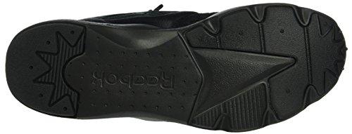 Reebok Furylite Unisex-Erwachsene Sneakers Black (Black/Black/White)