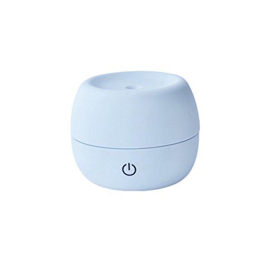 TAO Mini Büroschreibtisch USB-mute Zerstäubungsluftverdichter Nachschub Rauschunterdrückung ABS 230g 4.7 * 4.7 * 3.7in,Blue (Rauschunterdrückung Spray)