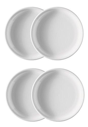 Rosenthal Trend weiß Frühstücksteller 20 cm 4-er Set