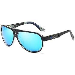 ALHM Gafas Polarizadas De Sol Para Europa Y AméRica Gafas De Sol De Caballero Para Gran Vista Nocturna De Marco Grande