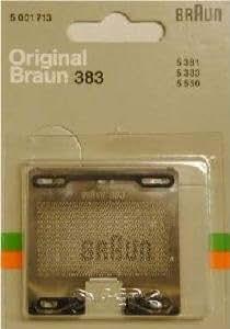 Grille Braun 383 pour rasoir 5550 5383 5381