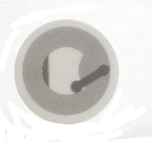 OBO HANDS Voll Kompatibler NFC TAG Aufkleber Hochleistungs NTAG 216 NFC Aufkleber RFID Tag für Alle NFC Fähigen Handys (20)