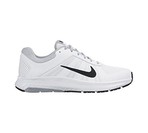 Nike Dart 12 (4e), Scarpe da Corsa Uomo Blanco (White / Black-Wolf Grey)