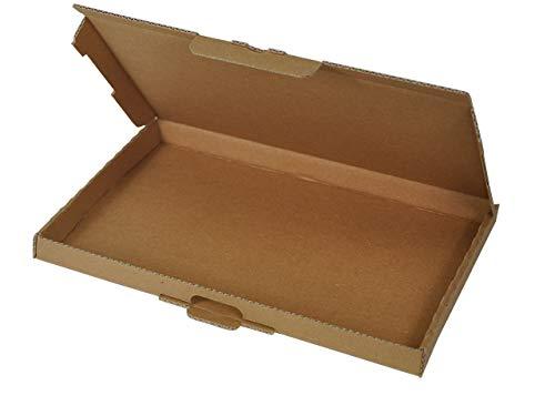 100 Großbrief Kartons 230x160x20 mm   Briefkarton DIN A5 geeignet für Warensendung mit DHL, Hermes, DPD und GLS   wählbar 25-1000 Stk.