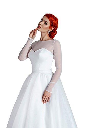 MGT-Shop -  Coprispalle  - bolero - Donna bianco