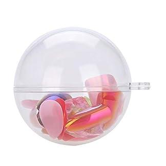 Durchsichtige-Plastikkugel-Durchsichtige-fllbare-Kugeln-die-Weihnachtsdekoration-verzieren-20Pcs-5CM-8CM-10CM