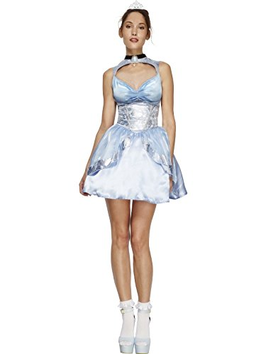 Sexy blaues Prinzessin-Kostüm für Damen