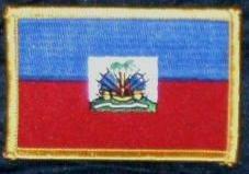 Yantec Patch Haiti Flaggenaufnäher (Fahne Haiti Patch)