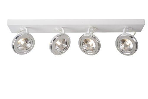 Lucide xentrix--Foco de Techo 11cm de diámetro-LED DIM.-1x 12W 2700K-Negro, aluminio, blanco,...