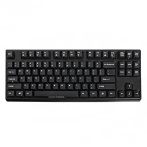 KEYCOOL 87 Mechanical Keyboard-Cherry MX Red Switch --- Color:Black