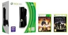 Xbox 360 - 250 GB, Incluye Fable III y Halo: Reach