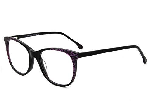 New fashion Leopard pattern design women Non-Prescription acetate eyewear