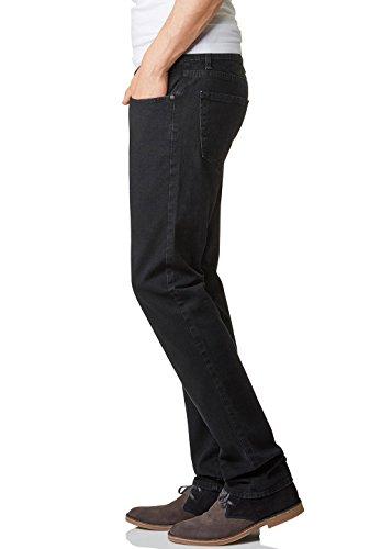 Pioneer storm jean coupe droite pour homme Noir - Schwarz (rinse black 11)