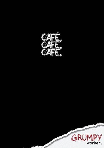 café, café, café.: Cuaderno en blanco