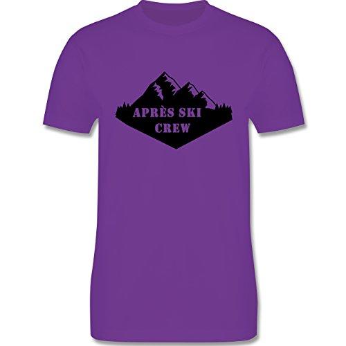 Après Ski - Apres Ski Crew - Herren Premium T-Shirt Lila