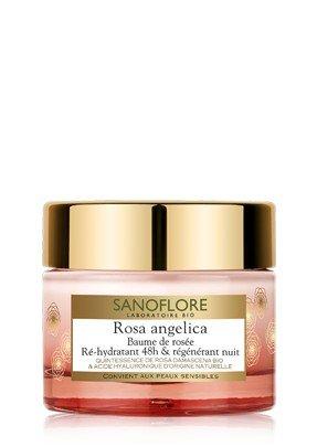 Sanoflore Rosa Angelica Baume de Rosée Ré-Hydratant 48h & Régénérant