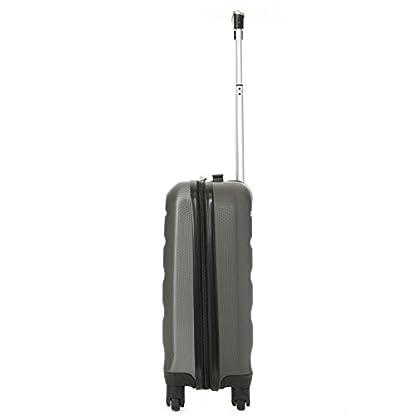 """Aerolite Concha dura Maleta Equipaje Viaje Paquete – 2 x 21 """"Equipaje de mano de cabina + 1 x 25"""" Maleta de equipaje de sujeción (3 piezas de equipaje)"""