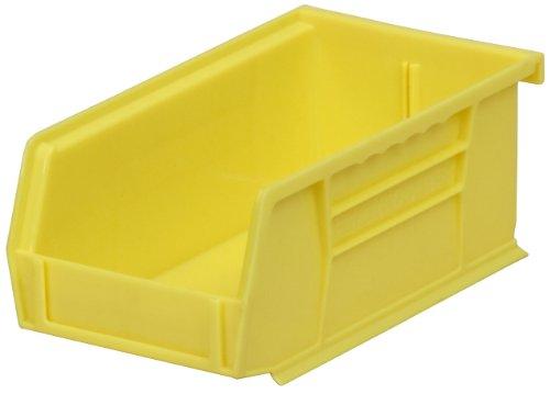 Akro-Mils 30220 Hängebehälter, 17,8 x 10,2 x 7,6 cm, Kunststoff, stapelbar, beerenfarben, 24 Stück, 30220