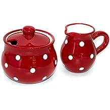 Schwarz VIVA scandinavia Tee-Set Porzellan 3-teilig bestehend aus Designer Teekannne Milchk/ännchen und Zuckerdose mit L/öffel aus Edelstahl