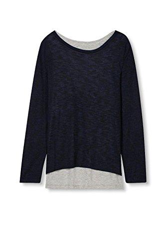 Esprit, T-Shirt Femme Bleu (Navy)