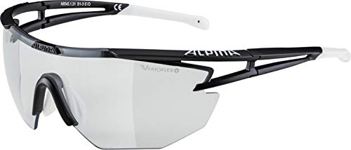 Alpina Sonnenbrille Performance EYE-5 SHIELD VL+ Sportbrille, black-white, One Size