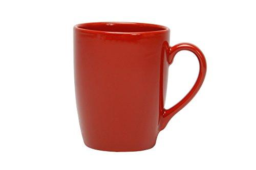 NOVASTYL Lot de 6 Mugs 35 Ibiza Rouge