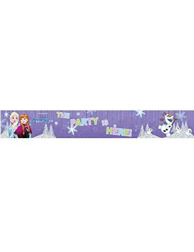 Banner The Party Is Here Fronzen, multicolor, PR89404