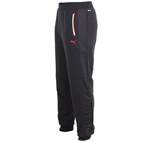 PUMA Scuderia Ferrari Sweat Pant Hose Trainingshose Sweathose Jogginghose (schwarz, XS)