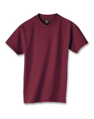 hanes-beefy-t-maglietta-da-ragazzo-maroon-l