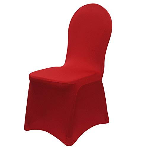 Yazidan Einteiliger elastischer Stuhlbezug des Hotels Stuhlbezüge Lycra Spandex Bankett Hochzeitstag Party Dekor Hotel Hochzeit Stretch Stuhlabdeckung