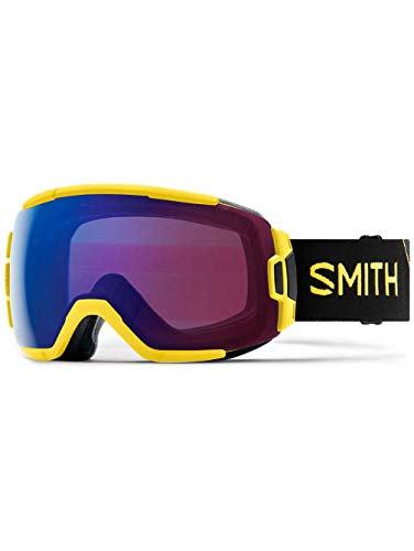 Smith optics vice, maschera sci unisex – adulto, citron glow/rose flash, m