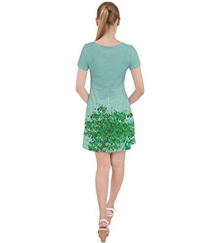 CowCow - Jupe - Femme vert Green light spring green