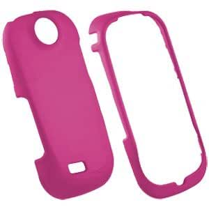 Samsung SCH-R710 Suede Snap-On Protective Cover, Pink