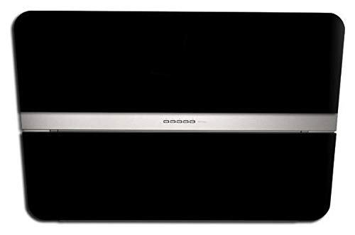 Falmec Dunstabzugshaube Design Flipper Wandhaube 55 cm Schwarz Satin