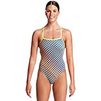 cff3f9d97b475 Funkita Ladies Strapped in One Pieces Glitter Girl Swimming Costume
