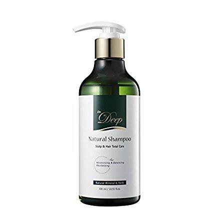 Dr.deep shampoo naturale per tutti i tipi di capelli (secca, grassa, ricci o fine), trattamento del cuoio capelluto itchy, capelli rinforzante, sostanze chimiche nocive, solfato-free quotidiano capelli cleanser
