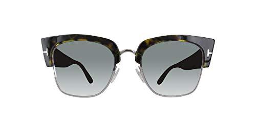 Tom Ford Damen Ft0554-52X-Schwarz Sonnenbrille, Schwarz, 55