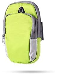 XYQY Deportes Running Armband Bag Funda Cubierta de brazaletes Correr Universal Impermeable Sport Soporte para teléfono móvil Deporte al Aire Libre Brazo de teléfono China Verde
