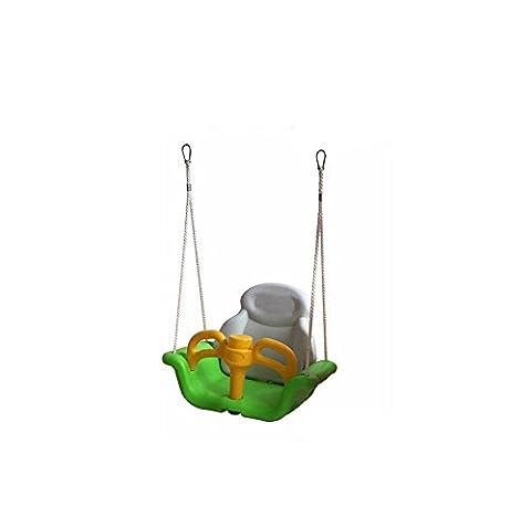 LD@Chaise pivotante en plastique sûre, durable / petite chaise de balançoire de bébé / chaise de jeu d'enfants / toboggan jouets gonflables extérieurs de bébé